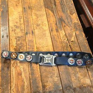 Harley davidson seat buckle belt